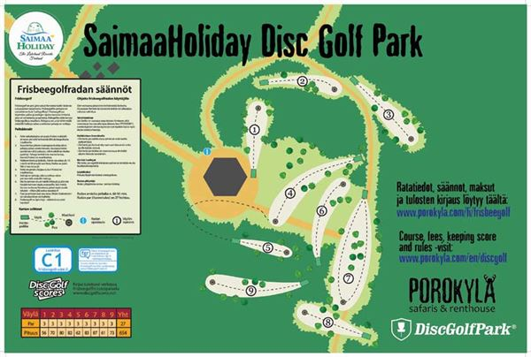 DiscGolf Course fee